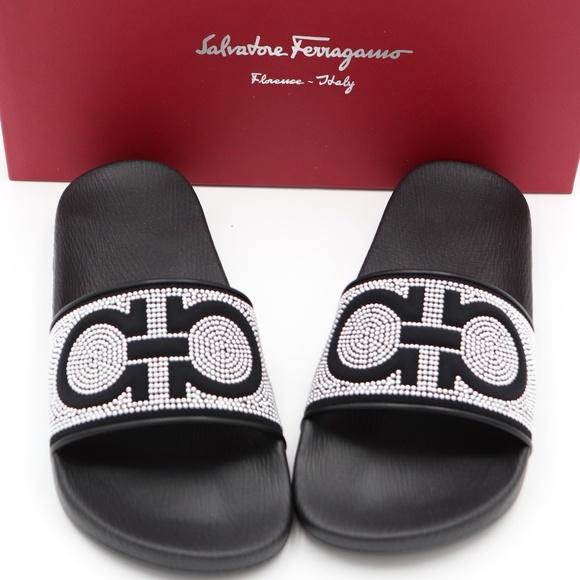 c6f03808726962 Salvatore Ferragamo Shoes | Groove X Gancini Pool Slides | Poshmark